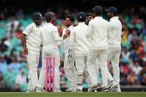 Kuldeep Yadav claimed a five-wicket haul