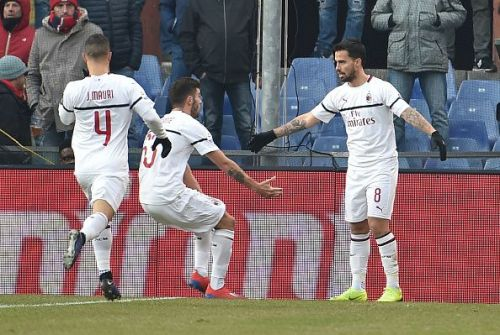 AC Milan will be hoping to make it three wins out of three in the Serie A