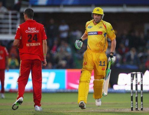 Flintoff and Pietersen in IPL 2009