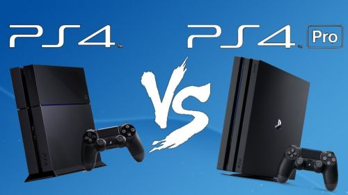 PS4 and PS4 Pro