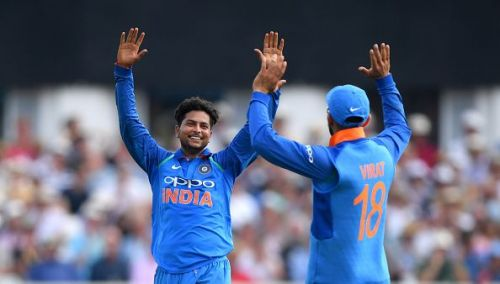 Kuldeep Yadav was India's best white-ball bowler in 2018