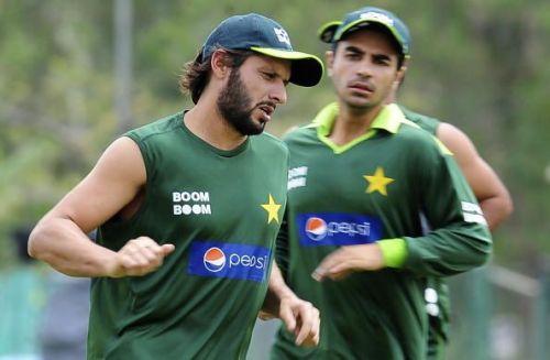 Shahid Afridi and Salman Butt