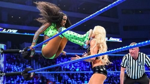 Naomi wanted revenge on Mandy Rose for trying to destroy her family