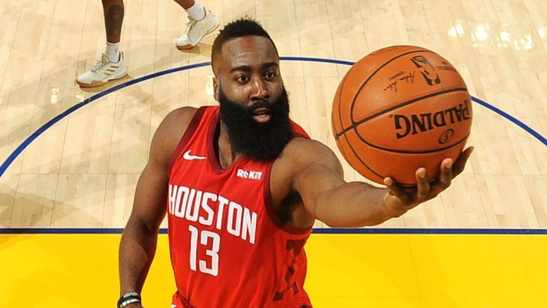James Harden erupted for 44 points at the Oracle Arena