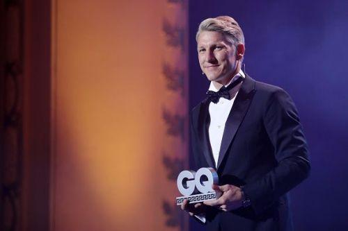 Schweinsteiger at the GQ Men Of The Year Award 2018