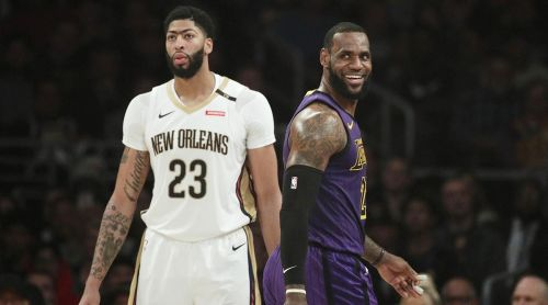 AD and LeBron were both MVP finalists this past season.