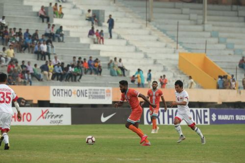 Shem Marton in action for Chennai City FC