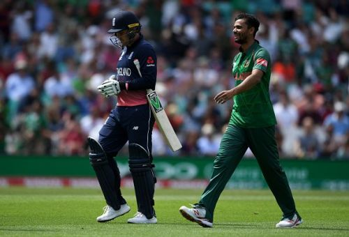 Mashrafe shows faith