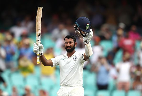 Cheteshwar Pujara was once again the man to put India in the driver