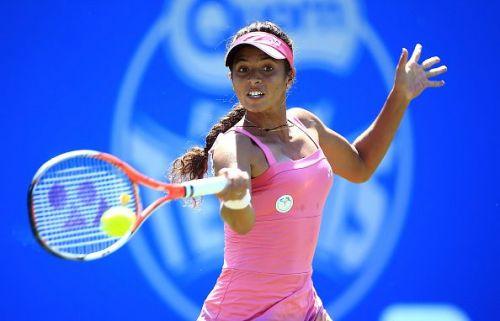 Ankita Raina made a winning start to her qualifying campaign