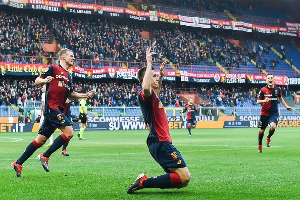 Piatek is having an excellent season in Serie A