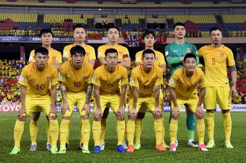 Chinese football team