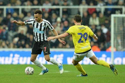 Jacob Murphy has struggled for form since signing for Newcastle in 2017
