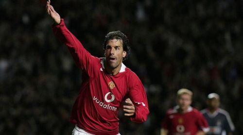 Ruud Van Nistelrooy had successful tenures for both teams