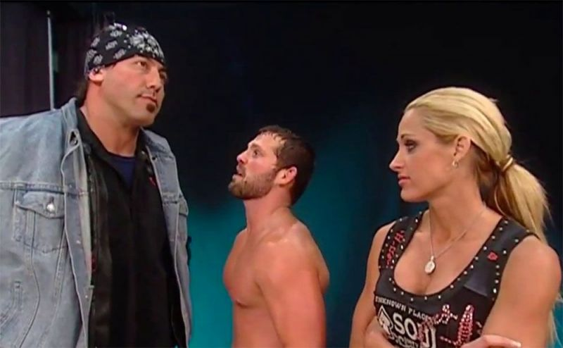 Jamie Noble along with Chuck Palumbo and Michelle McCool