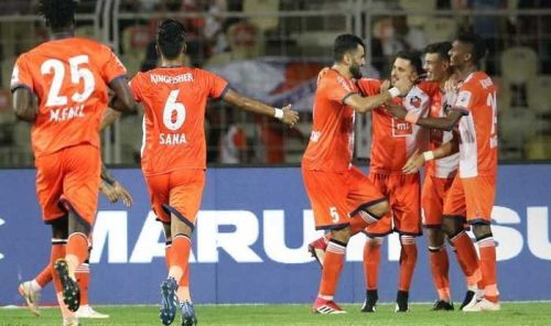 The Gaurs are still the top scoring team in the league with 27 goals (Image Courtesy: ISL)