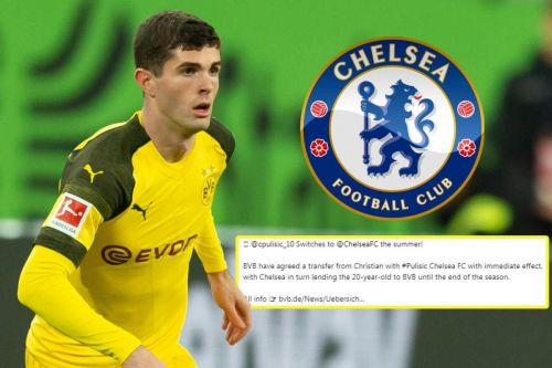 Chelsea has struck a deal with BVB for American star, Pulisic