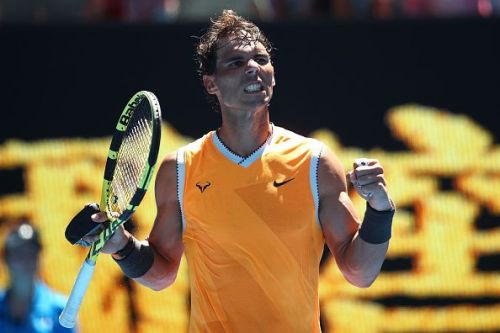 Nadal was not given any sort of rhythm in the match but he still eased through in straight sets