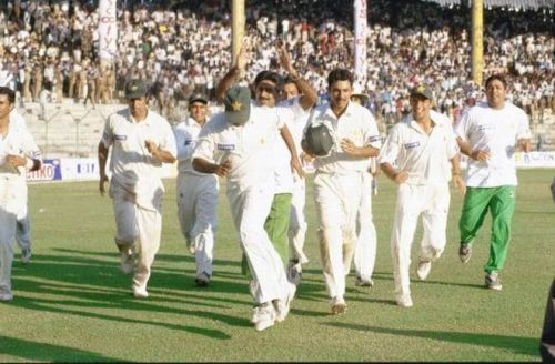 Knowledgeable Chennai Crowd appreciated the way Pakistan played that test in 19