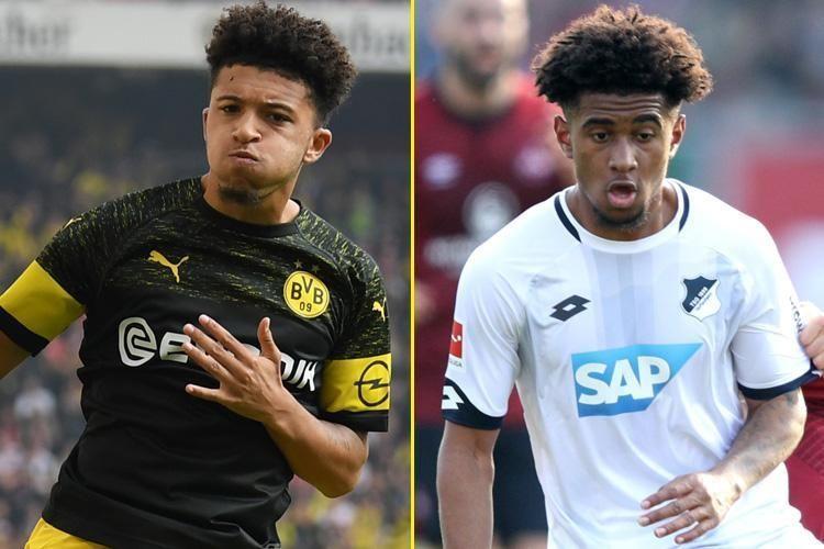 Jadon Sancho and Reiss Nelson, Bundesliga