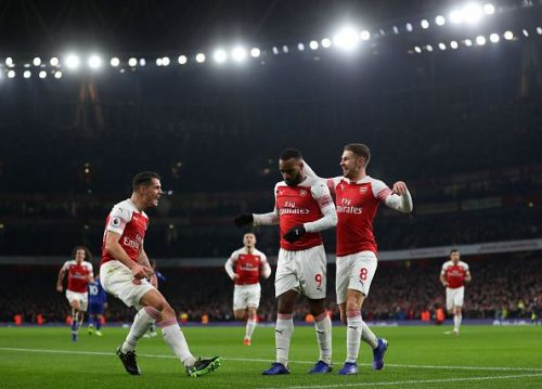 Arsenal a modern EPL game against Chelsea.