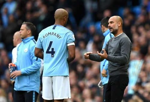 Vincent Kompany could leave Manchester City this summer