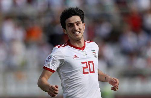Vietnam v Iran - AFC Asian Cup Group D - Sardar Azmoun from Iran has scored thrice