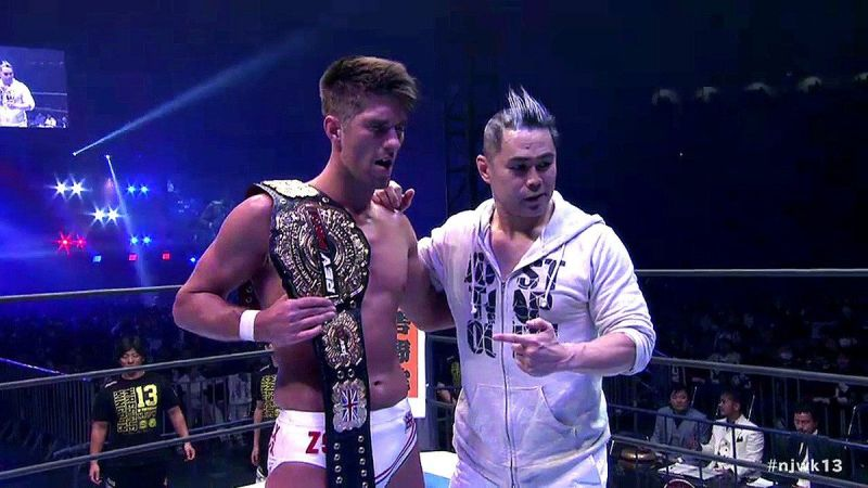 njpw wrestle kingdom 13  tomohiro ishii vs zack sabre jr