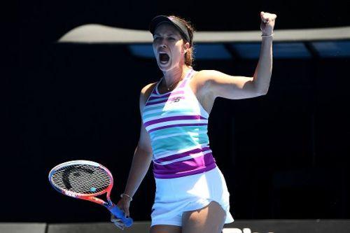 2019 Australian Open - Day 1 - Danielle Collins sends Julia Goerges packing