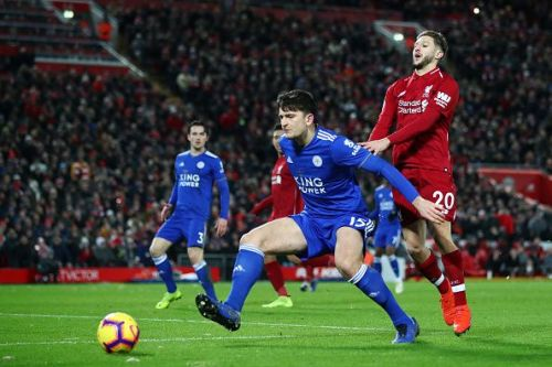 Leicester stopped Liverpool at Anfield