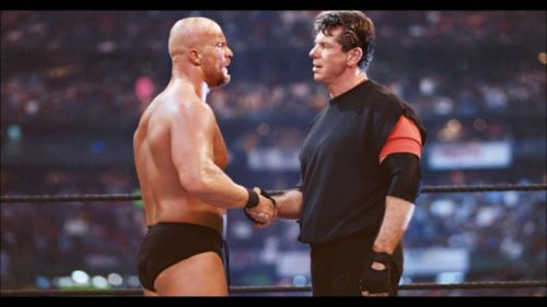 Stone Cold Steve Austin turning heel at WrestleMania 17 was one of the best twists of all time