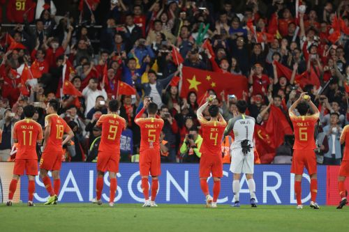 China progress to the quarter-finals in the AFC Asian Cup 2019