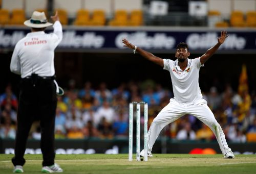 Lakmal get 5 wickets