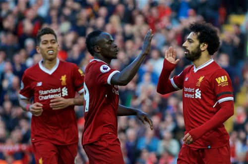 Salah, Firmino and Mane are three of only 27 players valued above €100 million