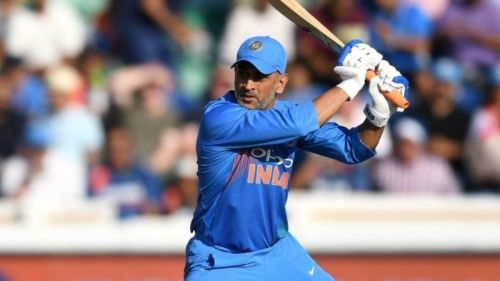 Dhoni scored 10,000 ODI runs for India