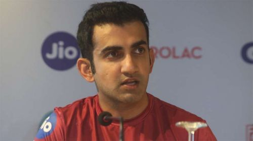 Gambhir talk about world cup squad