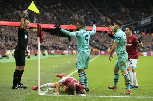 Lacazette has only scored once in the last 8 for the Gunners!