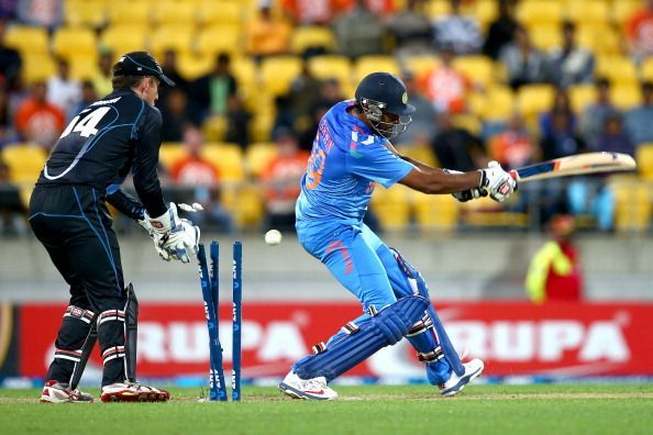 New Zealand v India - ODI
