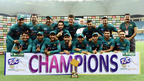 Pakistan team won 17 t20 matches in 2018