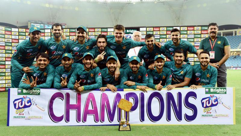 Pakistan team won 17 t20 matches in 2018