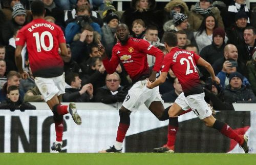Manchester United defeated Newcastle United 2-0 on Wednesday night