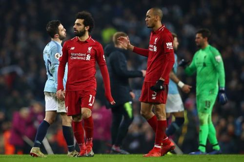 Manchester City ended Liverpool's unbeaten run in the Premier League