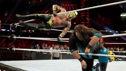 Rey Mysterio has been on a tear ever since he returned to WWE