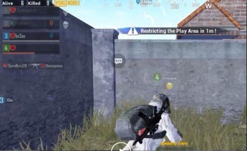 A hacker with no-name shooting through walls