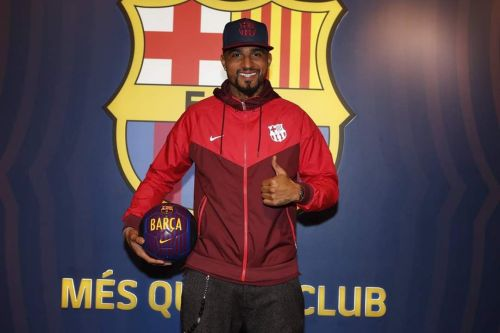Kevin-Prince Boateng has joined Barcelona on loan
