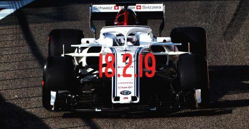 Sauber will be launching in Circuit de Catalunya, Barcelona
