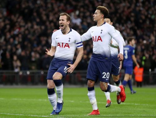 Tottenham beat Chelsea 1-0 in the first-leg of the Carabao Cup