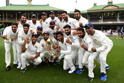 India clinched the Test series 2-1
