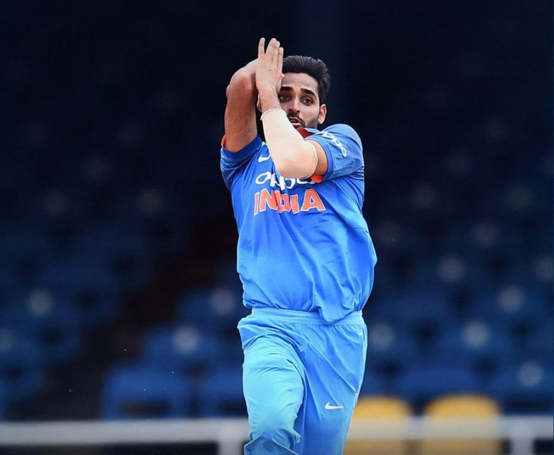 Bhuvi takes 100 ODi wickets in this match