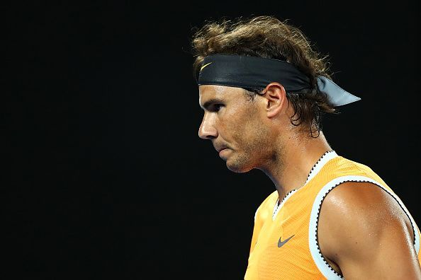 Third Australian opponent in as many matches for Rafael Nadal